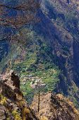 The Mountain Valley Of The Madeira Island , Portugal