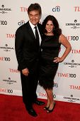 NEW YORK-APR 29: Dr. Mehmet Oz and wife Lisa Oz attend the Time 100 Gala for the Most Influential Pe