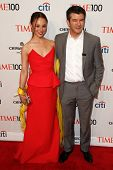 NEW YORK-APR 29: Entrepreneur Travis Kalanick & Gabi Holzwarth attend the Time 100 Gala for the Most