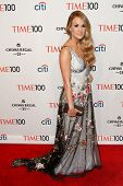 NEW YORK-APR 29: Recording artist Carrie Underwood attend the Time 100 Gala for the Most Influential