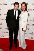 NEW YORK-APR 29: Director Ed Burns (L) and Christy Turlington attend the Time 100 Gala for the Most