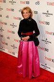 NEW YORK-APR 29: TV host Barbara Walters attends the Time 100 Gala for the Most Influential People i