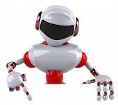 foto of robot  - Red robot - JPG