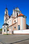 Church Of St. Catherine In Vilnius, Spring Time