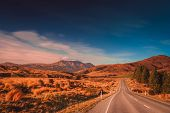 Road through New Zealand