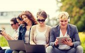 stock photo of online education  - summer - JPG