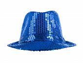 Festively Blue Hat