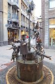 Fountain At Aachen, Germany