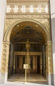Art deco facade at The Fred F. French Building in Manhattan