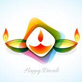 Vector attractive background of diwali