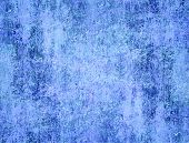 Grunge blue background