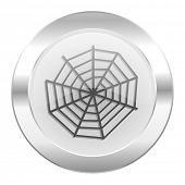 spider web chrome web icon isolated