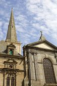 st malo cathedral in the north of france