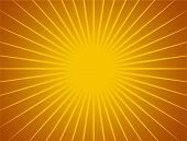 Sun rays background 3D