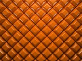 Abstract pattern of  small rhombus orange pieces illustration