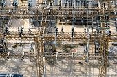picture of substation  - electrical energy and power substation transformers insulators - JPG