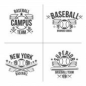Baseball Team Emblems