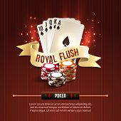 Pocker casino background