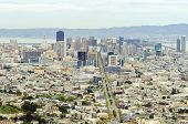 Aerial View Of Downtown San Francisco