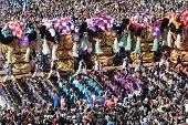 Golden large shrine festival