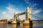 Tower bridge at sunny day, London