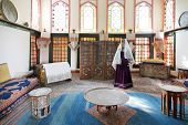 Dwelling Room Of Harem In Khan's Palace In Khan's Palace, Crimea