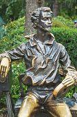 Statue Of Aleksandr Khanzhonkov In Yalta City