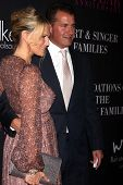 LOS ANGELES - OCT 18:  Molly Sims, Scott Stuber at the Pink Party 2014 at Hanger 8 on October 18, 2014 in Santa Monica, CA