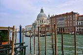 Venice Grand Canal at sunrise.