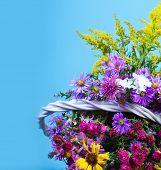 Autumn bouquet flower