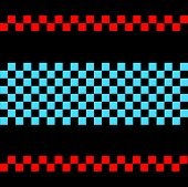 Trendy geometric pattern,basket weave,in vector.