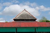 Roof of Bangsal Srimanganti one hall inside Yogyakarta Sultanate Palace