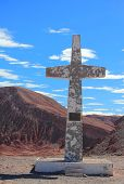 big cross near San Pedro de Atacama
