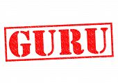 Guru Rubber Stamp