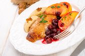 Duck Breast With Cranberry