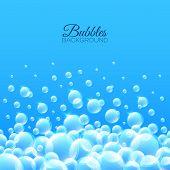 Bubbles Underwater Background