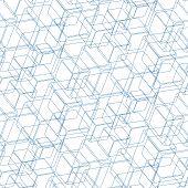 Isometric Cube Pattern