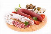 salami and chorizo