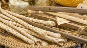 foto of handicrafts  - image of thailand bamboo toys handicraft  - JPG