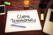 pic of reaction  - Client Testimonials  - JPG