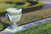 image of versaille  - Garden in the castle of Versailles Ile de France France - JPG