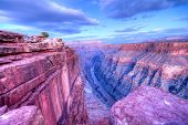 foto of nationalism  - Sunset at Toroweap Point in Grand Canyon National Park - JPG