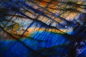 picture of labradorite  - labradorite mineral as very nice natural background - JPG