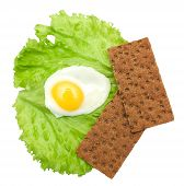 stock photo of crisps  - Healthy food - JPG