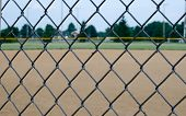 picture of chain link fence  - Close - JPG