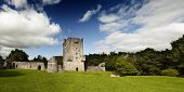 Meadow Square In Dublin Castle (ireland)