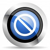 pic of denied  - access denied icon  original modern design for web and mobile app on white background  - JPG