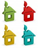house icon design
