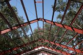 Steel Frame Roof Beams