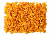 yellow raisins (sultana), dried fruits